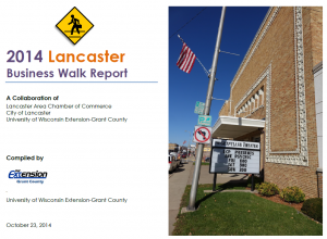 Lancaster Business Walk Report Cover